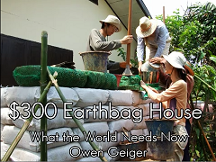 Earthbag House Helping Others