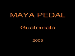 Maya Pedal Helping Others